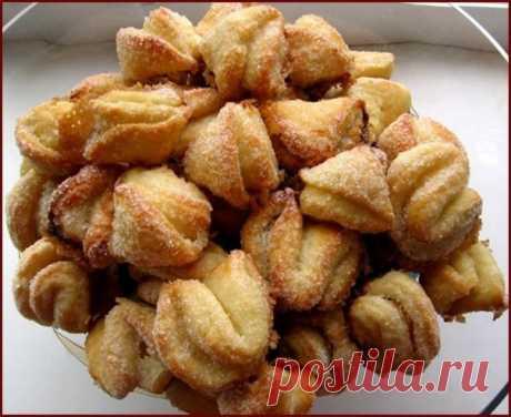 Как приготовить творожные печенья поцелуйчики - рецепт, ингредиенты и фотографии