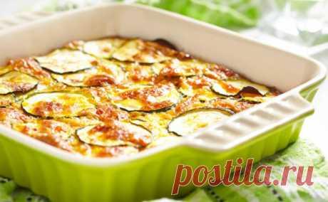 Запеканка из кабачков с плавленным сыром - нежная и очень вкусная (рецепт) - tv.ua