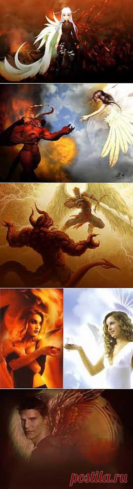 ангел и демон - Поиск в Google
