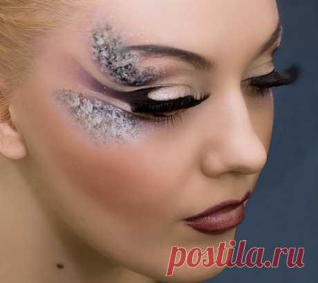 El maquillaje de concurso