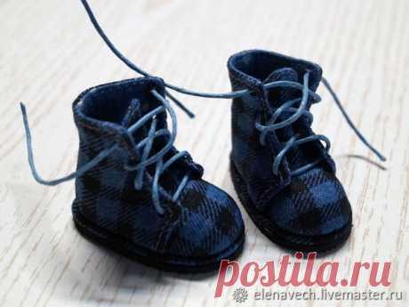 Шьём текстильные ботиночки для куклы. Часть 2 | Журнал Ярмарки Мастеров