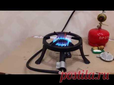 Чугунная газовая плита GB-23. Мощность-7 кВт