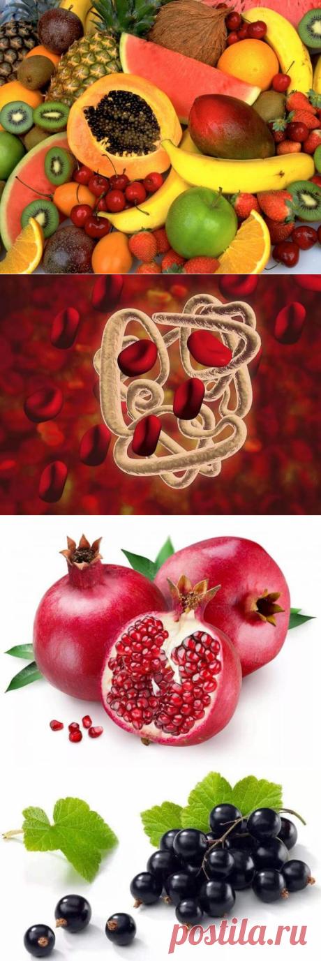 Какие фрукты повышают гемоглобин: список, положительное влияние | В темпі життя