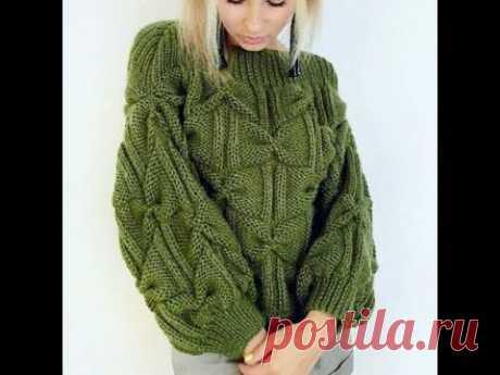 Связать Новые Свитера Спицами для Женщины - модели - 2019 / Knit New Sweater Knitting for Women