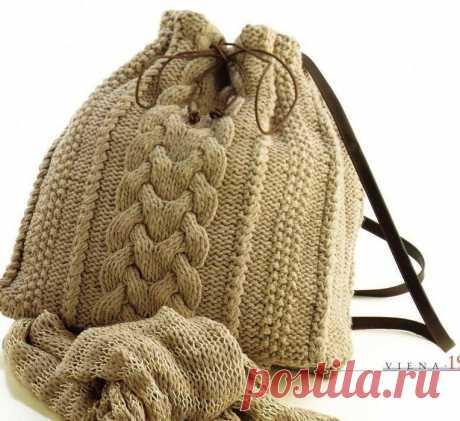 Вязаные сумки: идеи — DIYIdeas