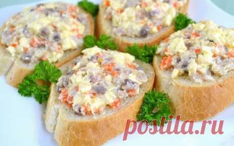 Как приготовить закуска из селедки и плавленого сыра.  - рецепт, ингредиенты и фотографии