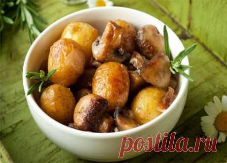 Жареная картошка с грибами и с луком в мультиварке    Мультиварку чаще всего используют для приготовления каш, плова, выпечки, но достаточно редко в ней жарят. И совершенно напрасно, потому что даже жареные блюда в ней получаются превосходно. Попробу…