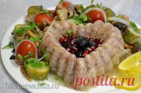 Холодец мясной «Праздничный» в медленноварке Morphy Richards - рецепт с фото на Хлебопечка.ру