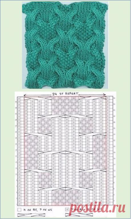 Узоры и схемы для спиц. Выпуск №1 | Embroidery art | Яндекс Дзен