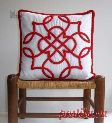 Этнический орнамент из шнура — Рукоделие