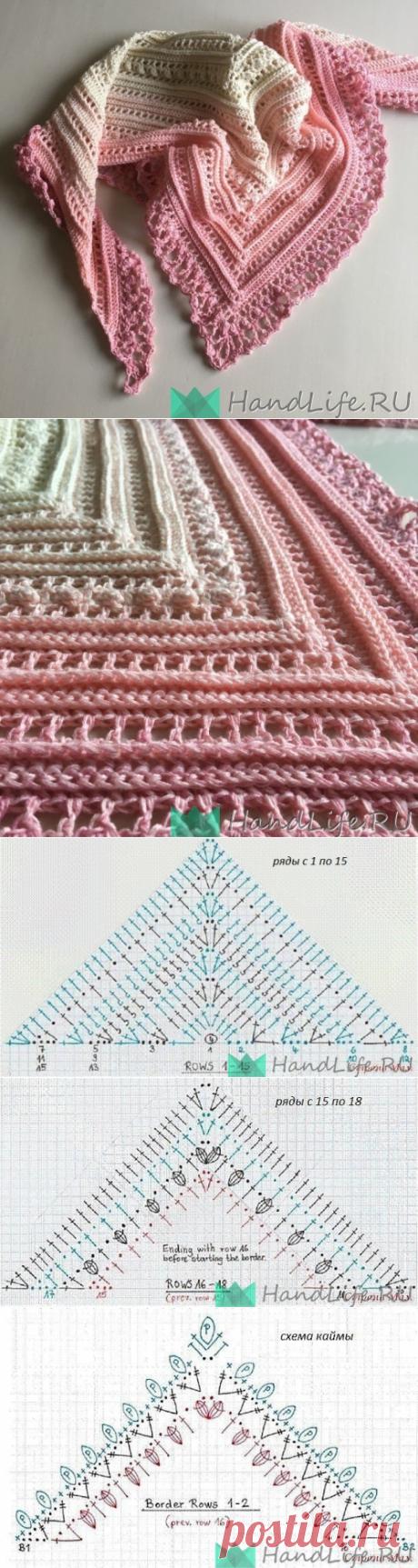 Beautiful baktus hook \/ Knitting