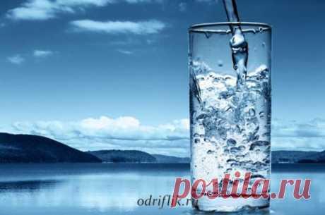 Как очистить водопроводную воду | odriflik