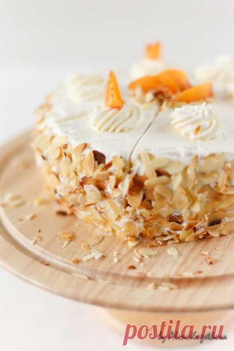 """Абрикосово-сливочный торт """"Шифон"""" - Попробуем жизнь на вкус?! — LiveJournal"""