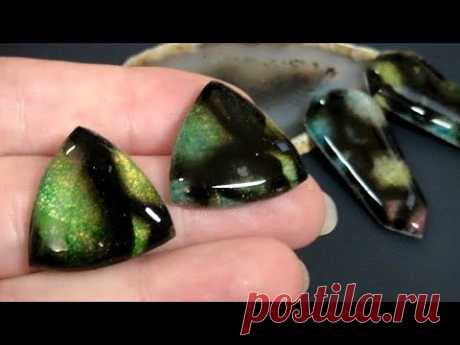 Amazing Faux Murano Glass from Polymer Clay. Unique Technique. Tutorial - YouTube