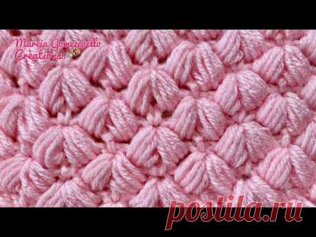 TEJIDOS A CROCHET: Puntada Mosca/HOW TO CROCHET: Flies Stitch