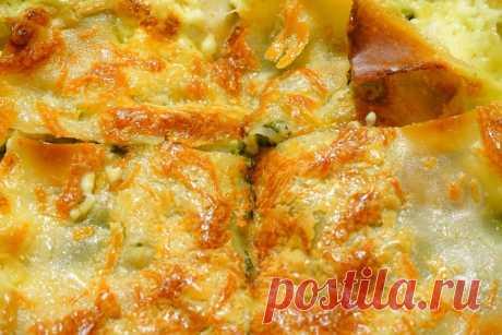 Сырный пирог - рецепт с фото - как приготовить - ингредиенты, состав, время приготовления - Дети Mail.Ru