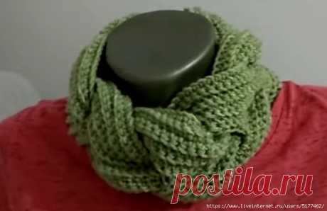 We knit a hook