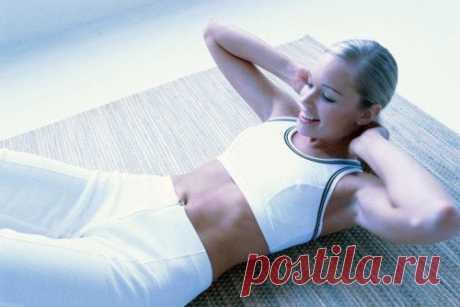 Как сделать живот плоским, или волшебная гимнастика по утрам — Мегаздоров