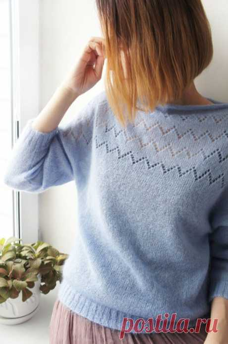 ASSEMBLY of the KNITTED PRODUCT. The SELECTION VIDEUROKOV (Lessons and MK of KNITTING) — the Inspiration of the Needlewoman Magazine