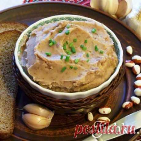 Рецепт очень вкусного паштета из фасоли