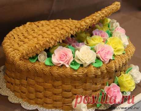 Подборка кремов и пропиток для тортов и пирожных.