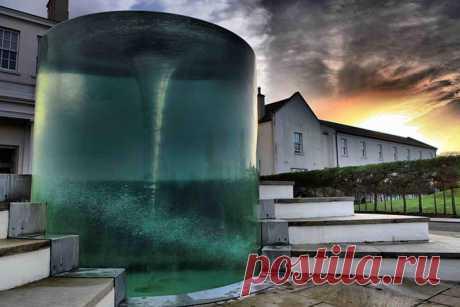 """Фонтан-водоворот """"Харибда"""" (Charybdis), Сандерленд, Великобритания » хЕХЕ - Развлекательный портал который платит Вам за новости."""