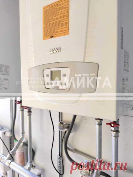 Установка настенных котлов Baxi (Италия) LUNA Duo-tec, использующих процесс конденсации выделяемого при сгорании газа пара для увеличения полезной мощности, https://amikta.ru/otoplenie/
