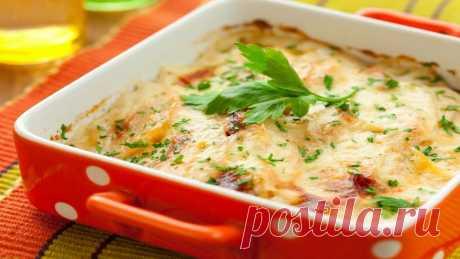 Картофельная запеканка с квашеной капустой - очень быстро и вкусно! - На Кухне Хотите быстро приготовить ужин? Картофельная запеканка – идеальный вариант.