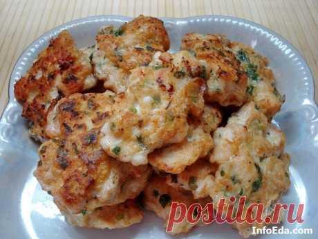Куриные оладьи (рубленые котлеты): фото рецепт | InfoEda.com