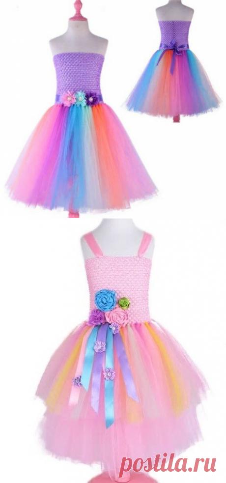 Праздничное платье для девочки своими руками. Идеи, советы, схемы и подсказки. | Поделки, рукоделки, рецепты | Яндекс Дзен