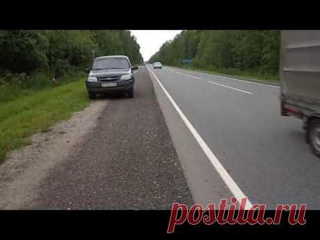 Незаконная установка камер видеофиксации ПДД под Костромой - YouTube