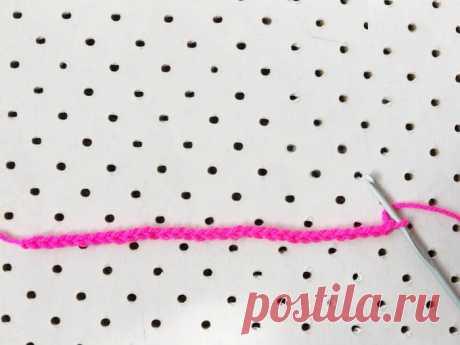 La cinta multicolor - el esquema de la labor de punto por el gancho. Tejemos las Cintas en Verena.ru