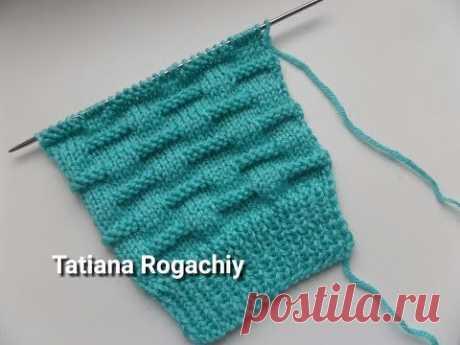 Красивый узор.Вязание спицами.Обзор пряжи Valencia KOALA - YouTube