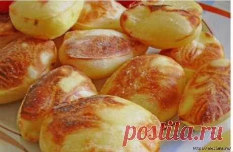Обалденный «вздутый» картофель