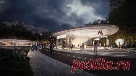 Станцию Бирюлёвской линии метро построят попроекту бюро Захи Хадид — Strelka Mag