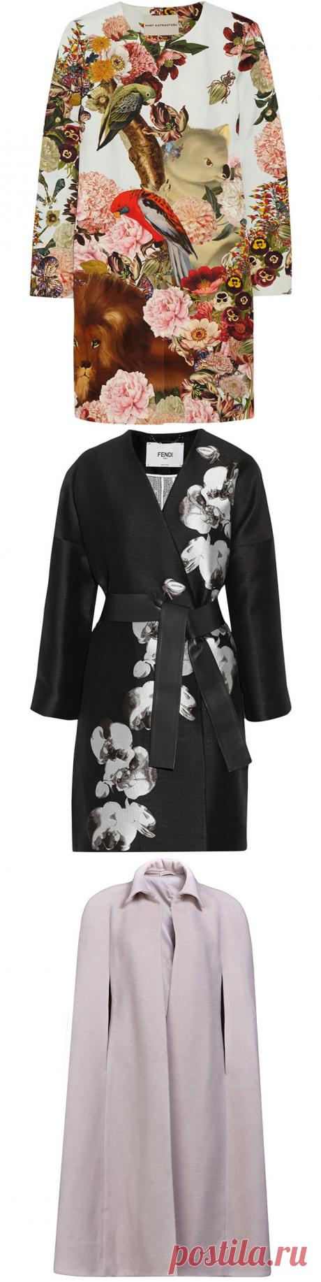 Обзор — 10 весенних пальто, которые наиболее отвечают настроению сезона