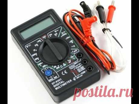 Multimeter. How to use a multimeter (tester)