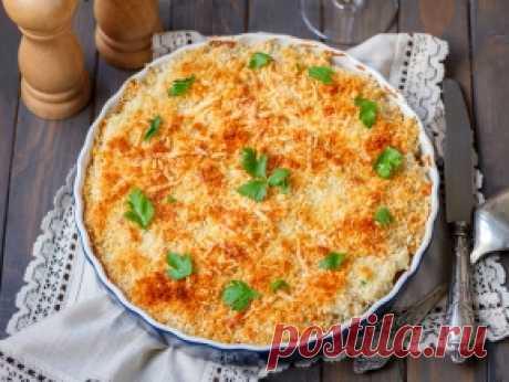 Гратен из цветной капусты — пошаговый рецепт с фото и видео