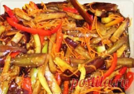 Салат из баклажан на зиму | Рецепты вкусно