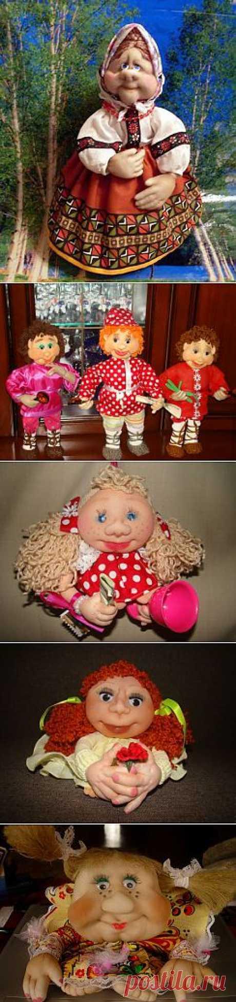 Куклы из колготок (мастер класс)