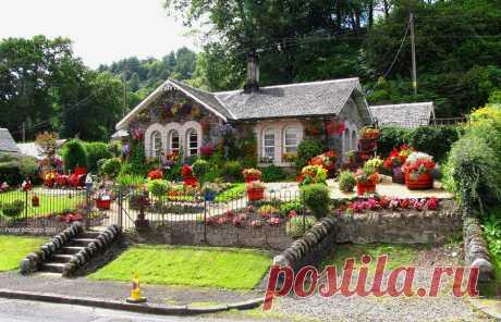 Деревня Ласс(Luss),Шотландия