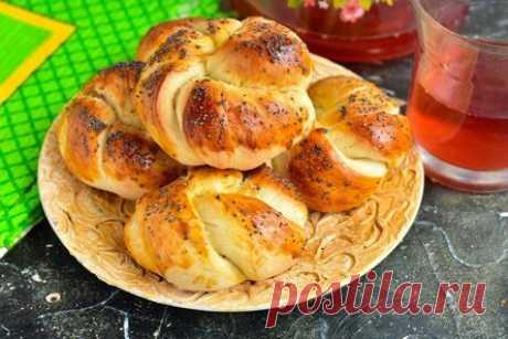 Турецкие булочки — они получаются мягкими и вкусными