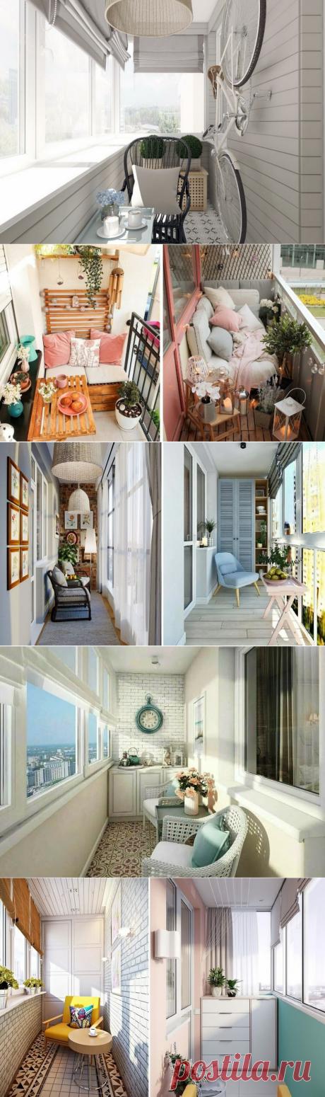 Оформление балкона: лучшие варианты украшения лоджии | Lavanda-decor | Яндекс Дзен