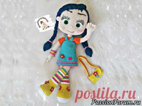 Кукла Висспер - запись пользователя Игрушки для души (Веруня) в сообществе Мир игрушки в категории Вязаные игрушки. Мастер-классы, схемы, описание.