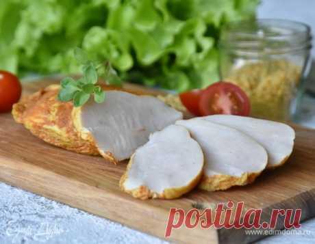 Филе грудки, томленное в молоке, пошаговый рецепт на 481 ккал, фото, ингредиенты - gapapolya