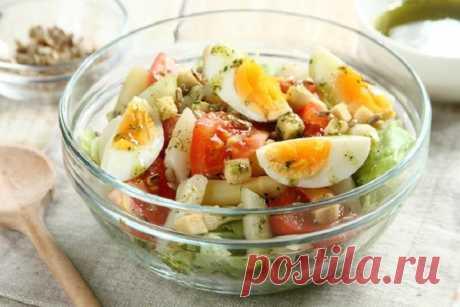 Вкусный салат со спаржей и яйцом – пошаговый рецепт с фото.