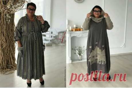 Одежда больших размеров...просто и стильно. Выкройки платья и жакета