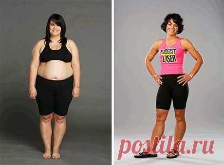 упражнения для похудения Эффективное похудение