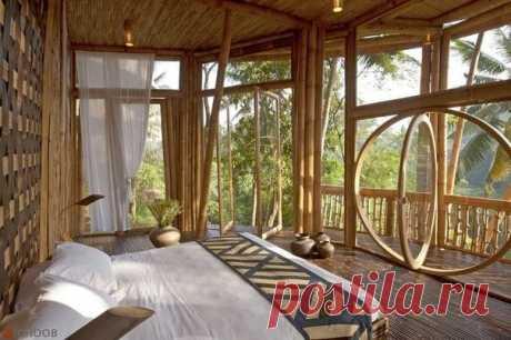 Тропическая спальня