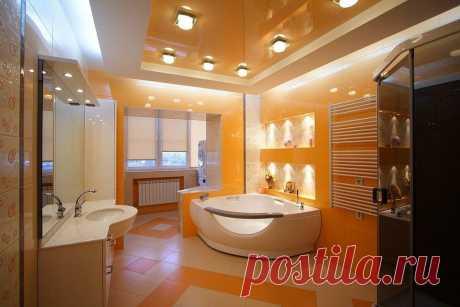 Особенности отделки потолка в ванной | Роскошь и уют